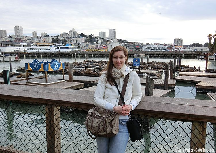 Am Pier 39 in San Francisco