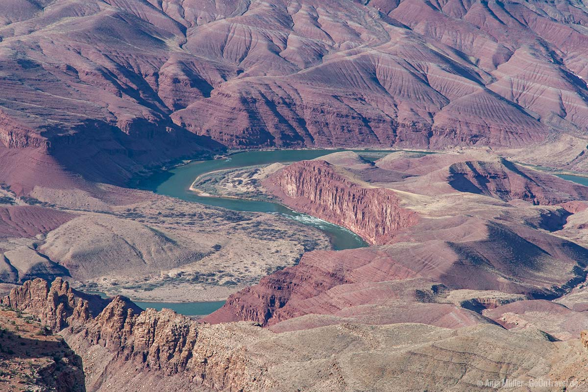 Blick auf den Colorado River