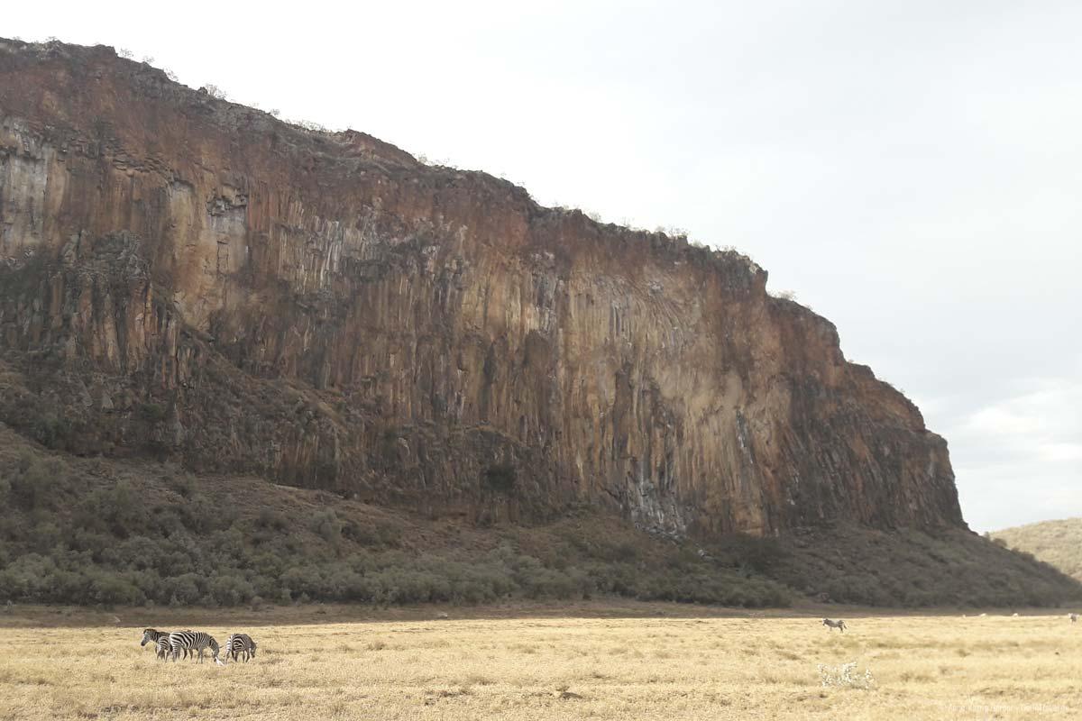 rote Felsformationen im Hells Gate Nationalpark