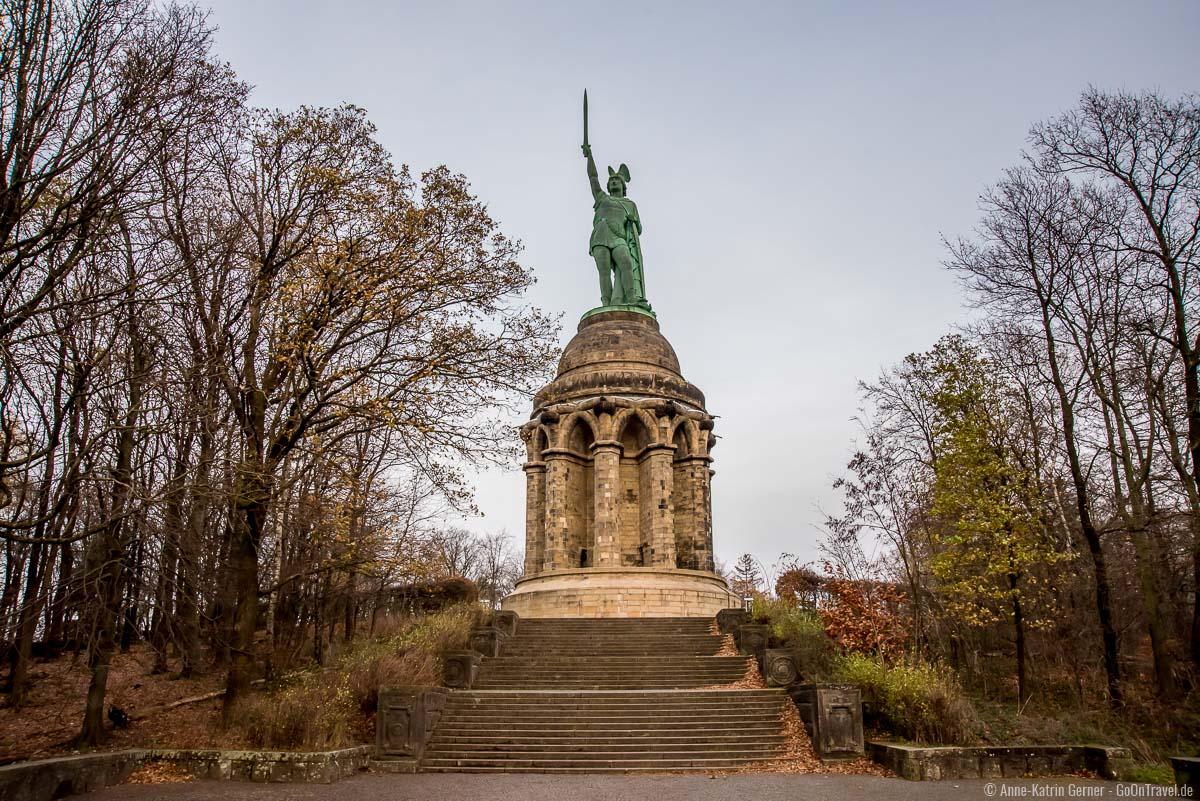 Die höchste Statue von Deutschland - das Hermannsdenkmal
