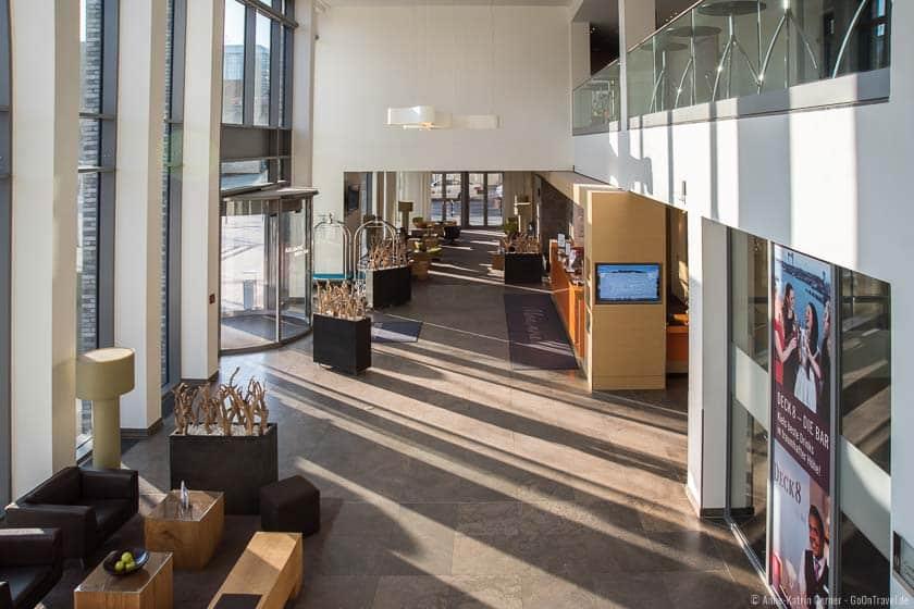 Lobby im Atlantic Kiel
