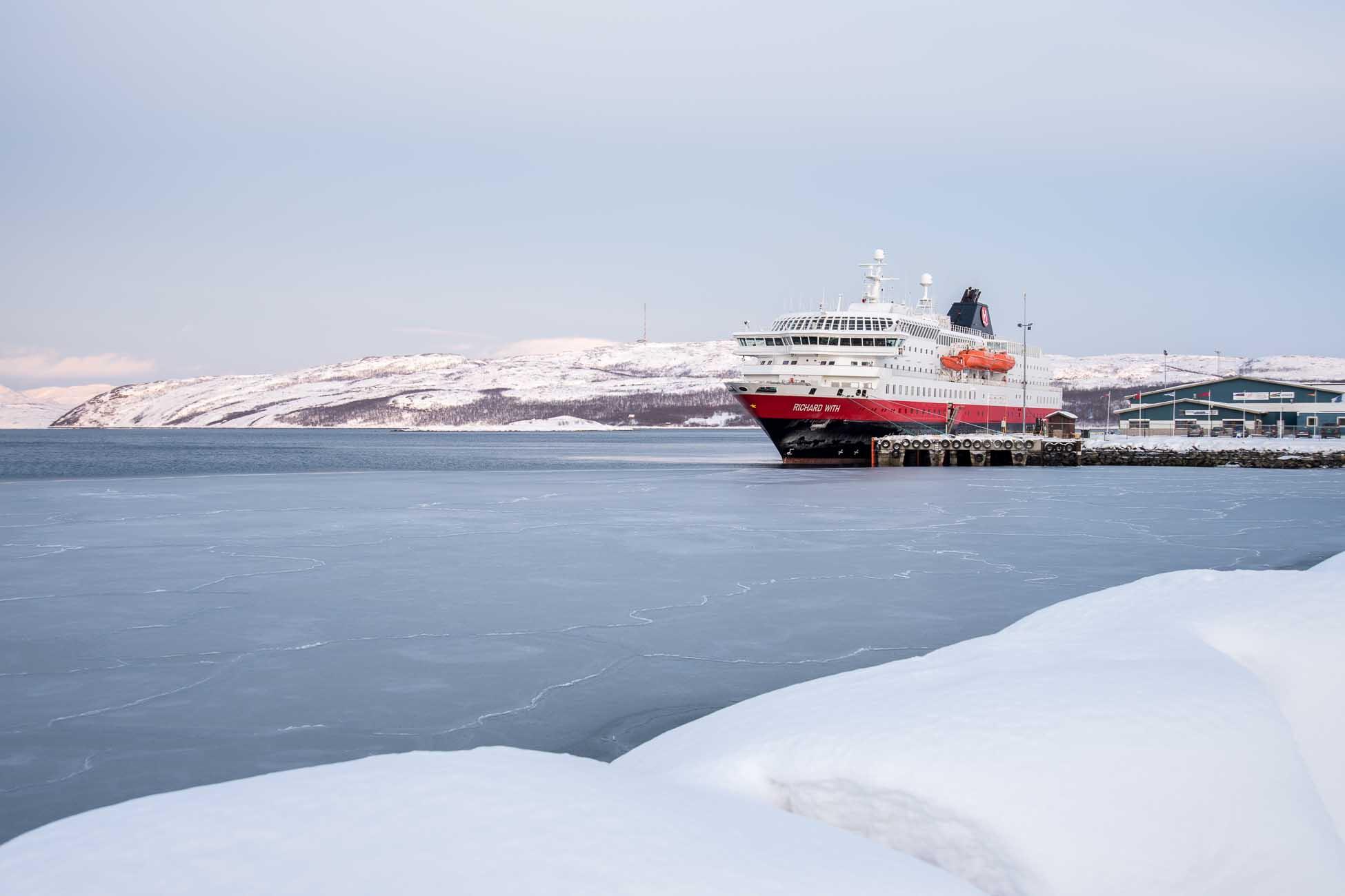 Hurtigruten Jubilaeum Winter Kirkenes