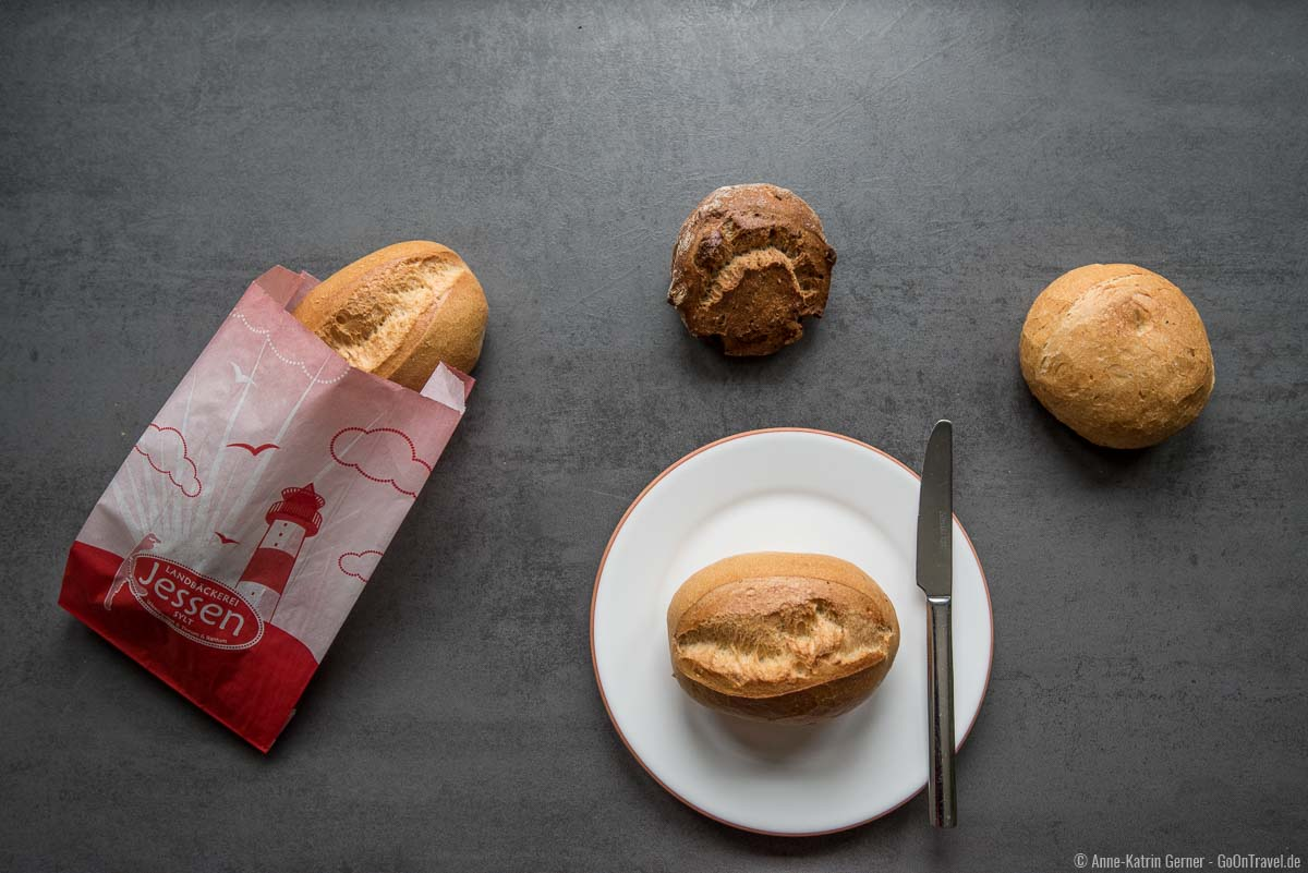 Schrippen, Einfache und Walnussknacker von der Landbäckerei Jessen