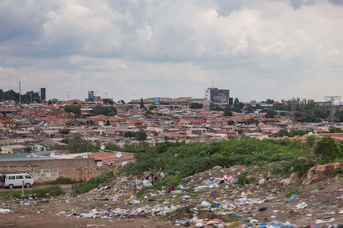 Blick auf Soweto