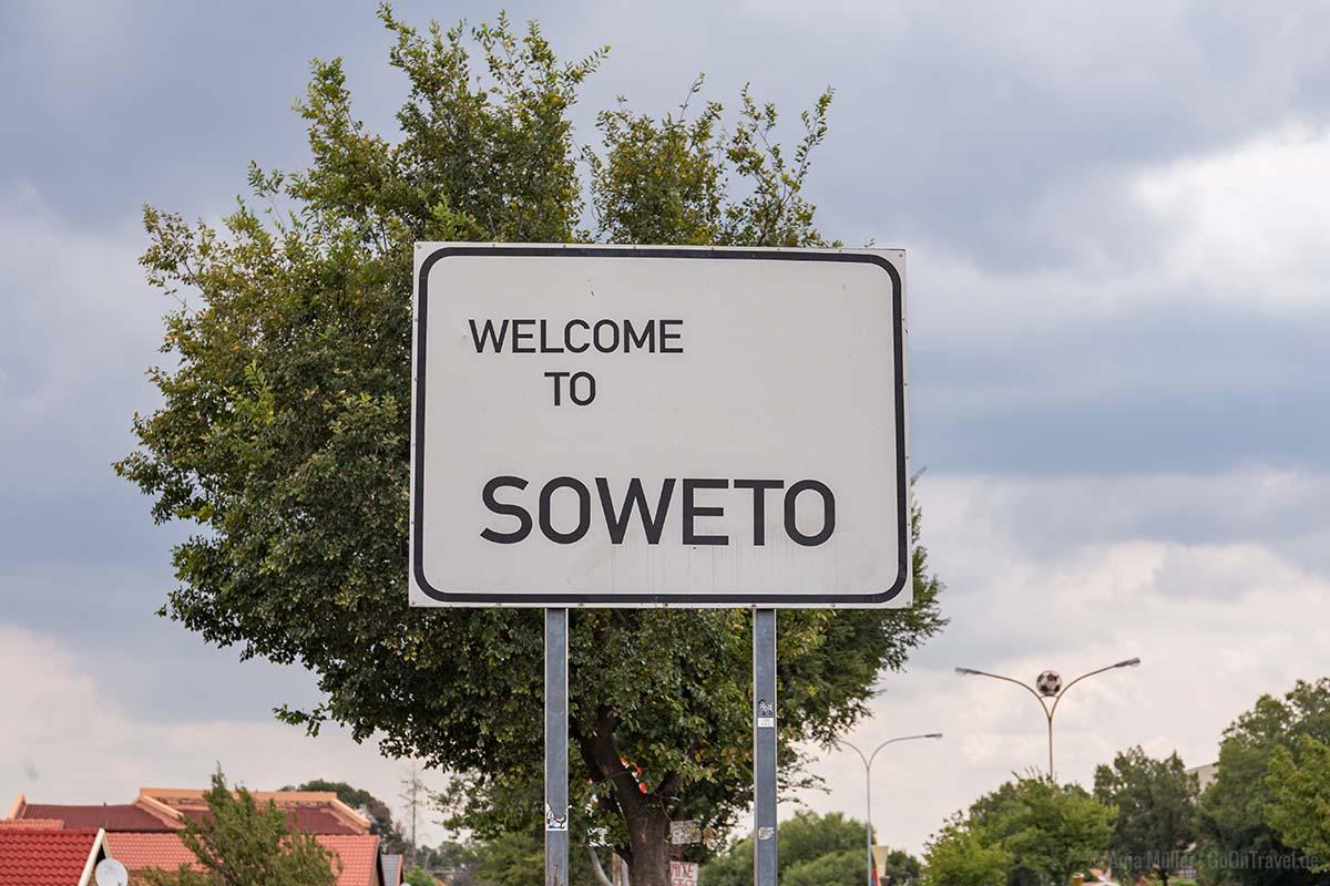 Der Eingang nach SOWETO