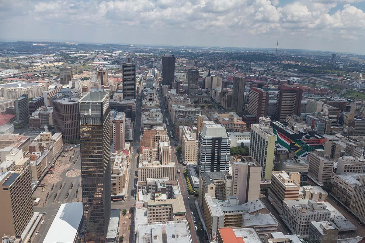 Johannesburg Sehenswürdigkeiten – Mit dem Hop on Hop off Bus durch die Joburg