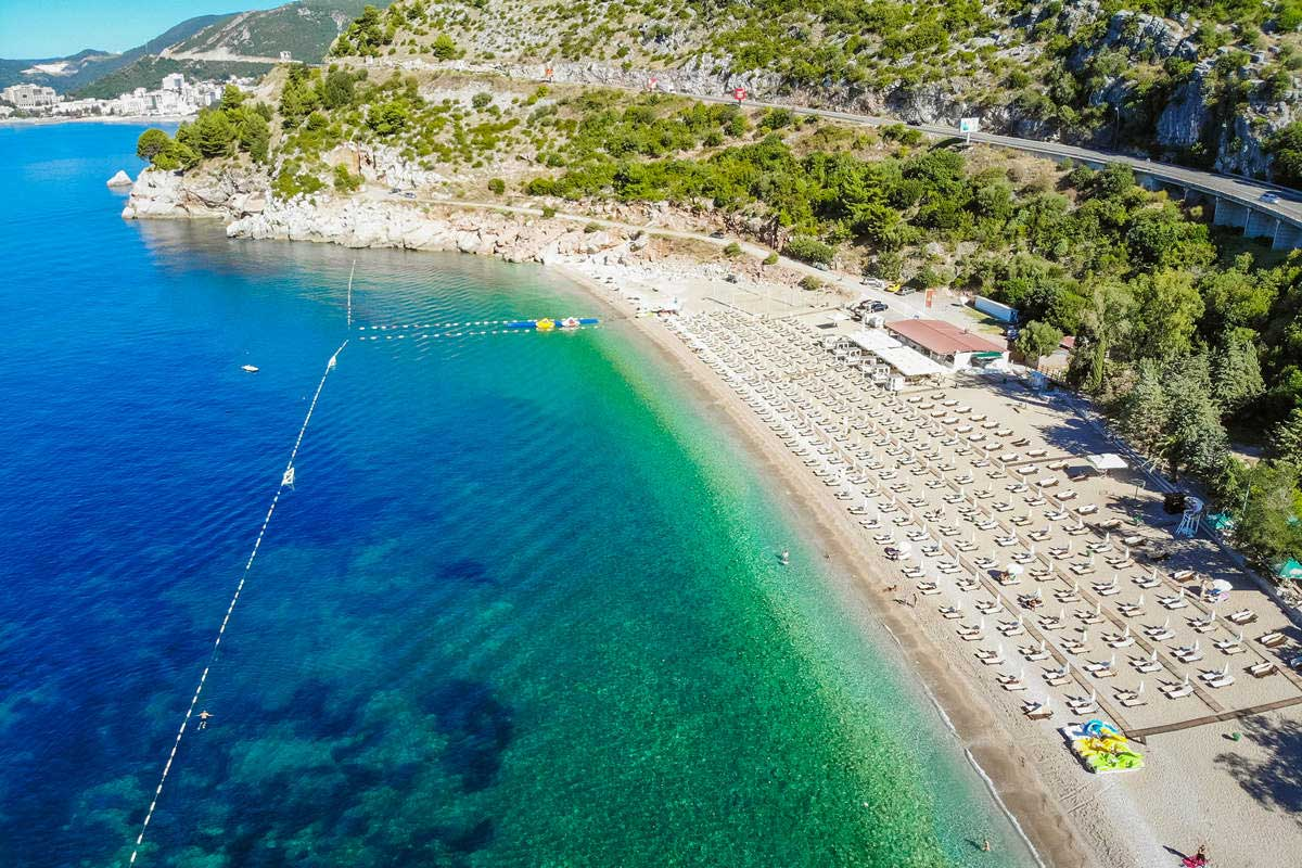 Kamenovo Beach in Montenegro