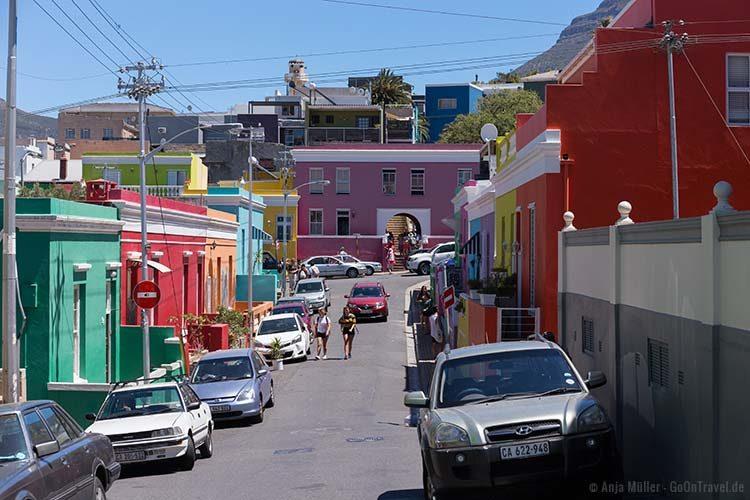 Blick auf das Bo-Kaap Museum