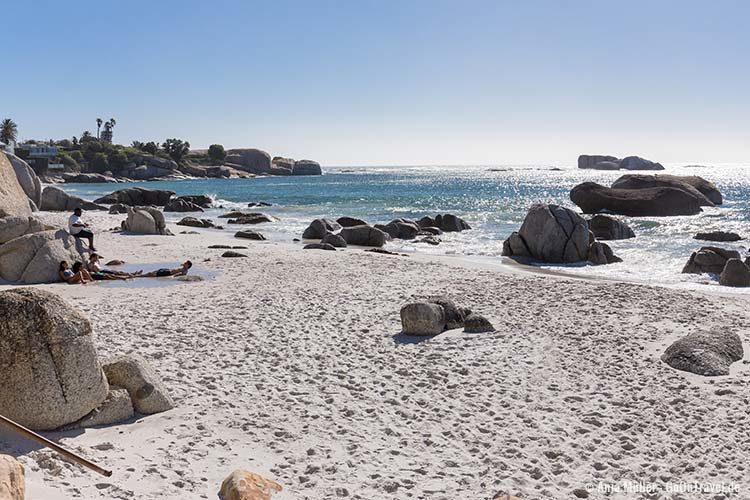 Der Strand von Clifton Bay