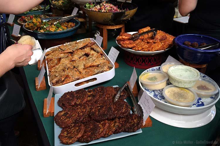 Essen auf dem Neighbourgoods Market in Kapstadt