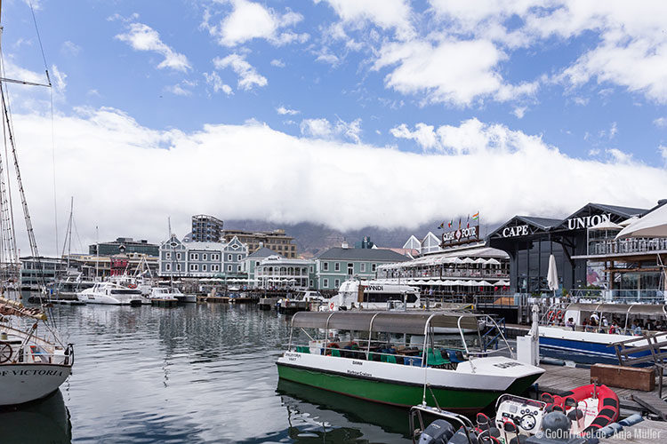 Die V&A Waterfront in Kapstadt