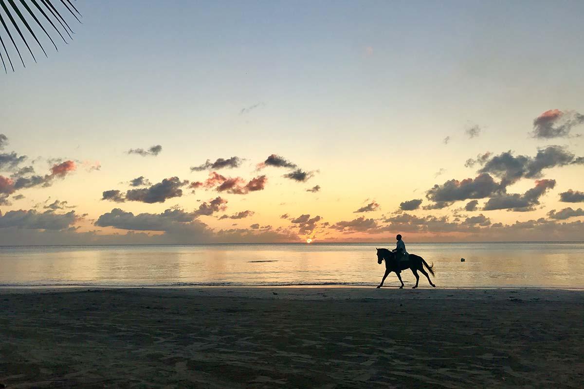 Sonnenuntergang auf Providencia
