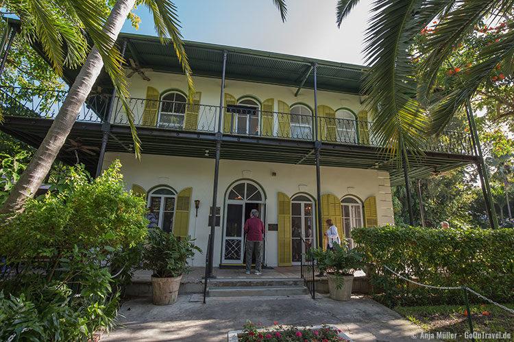 Außenansicht auf das Ernest Hemingway Haus