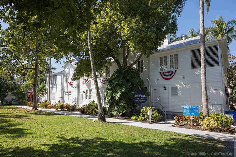The Little White House in Key West