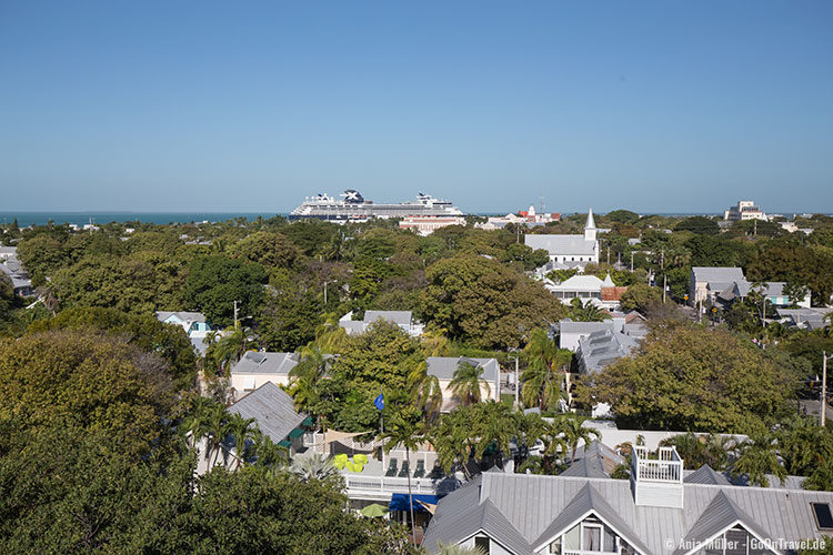 Blick vom Leuchtturm auf Key West