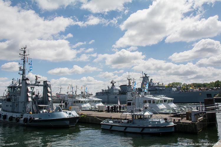 Marinegelände Tirpitzhafen: Open Ship