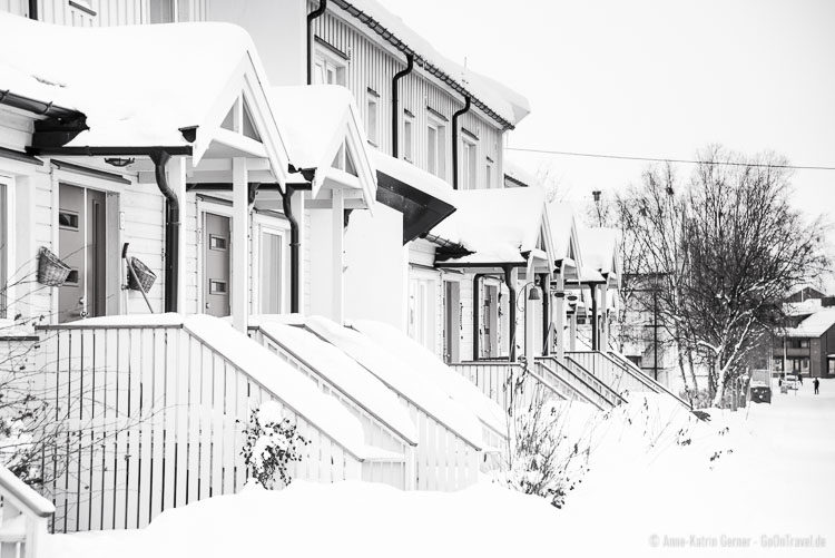 Kirkenes unter Schnee