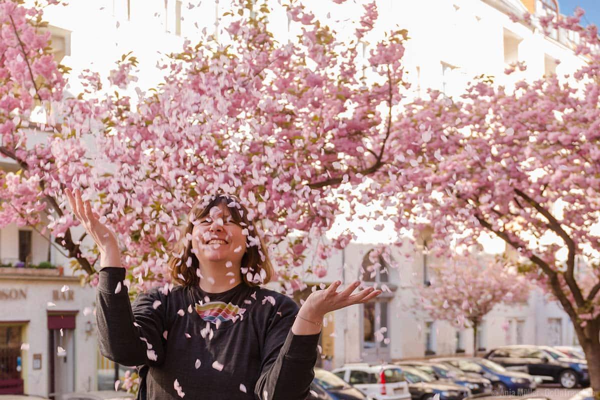 Kirschblüten machen definitiv glücklich