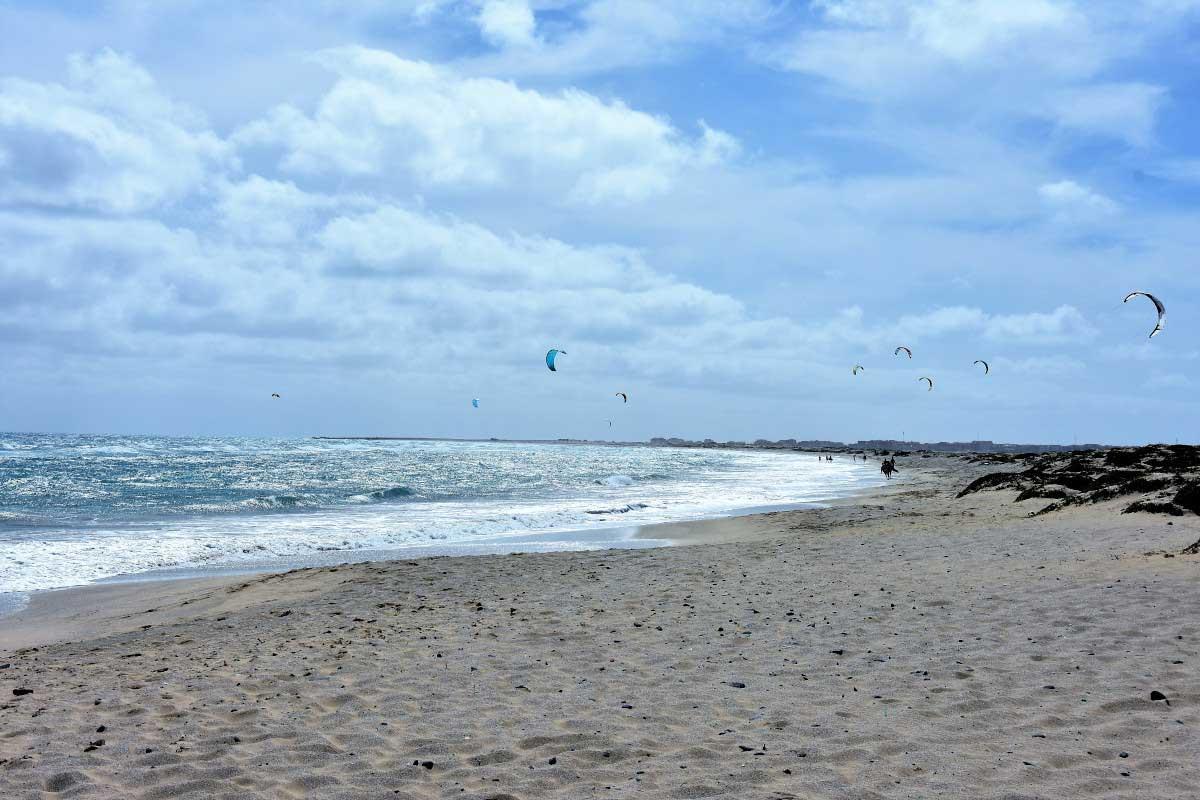 Kitebeach Santa Maria Kap Verde