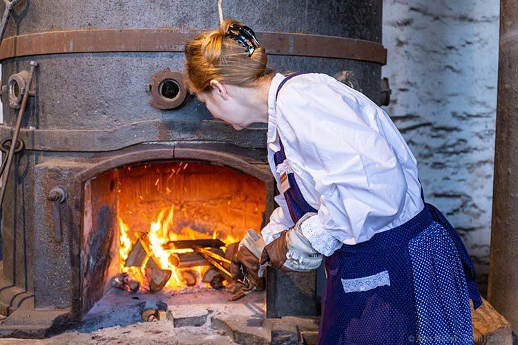 Herstellung von Klemmkuchen
