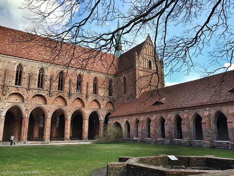Das Kloster Chorin im Frühjahr