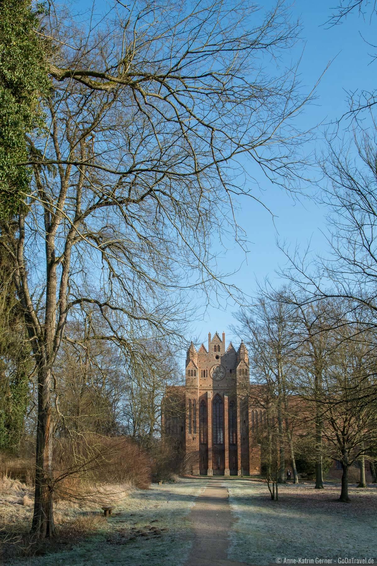 In den Wäldern rum um das Kloster Chorin lässt es sich ausgedehnt wandern.