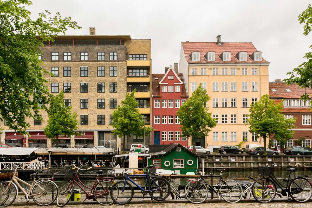 malerisches Christianshavn in Kopenhagen