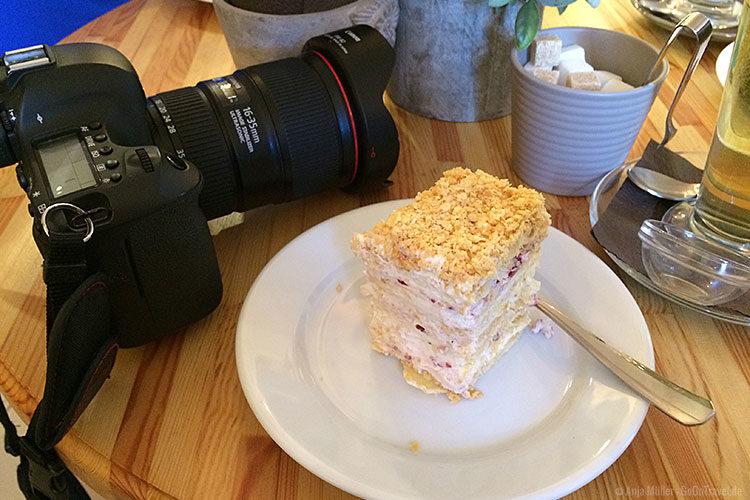 Leckeren Kuchen gibt es im Rausu meistars.