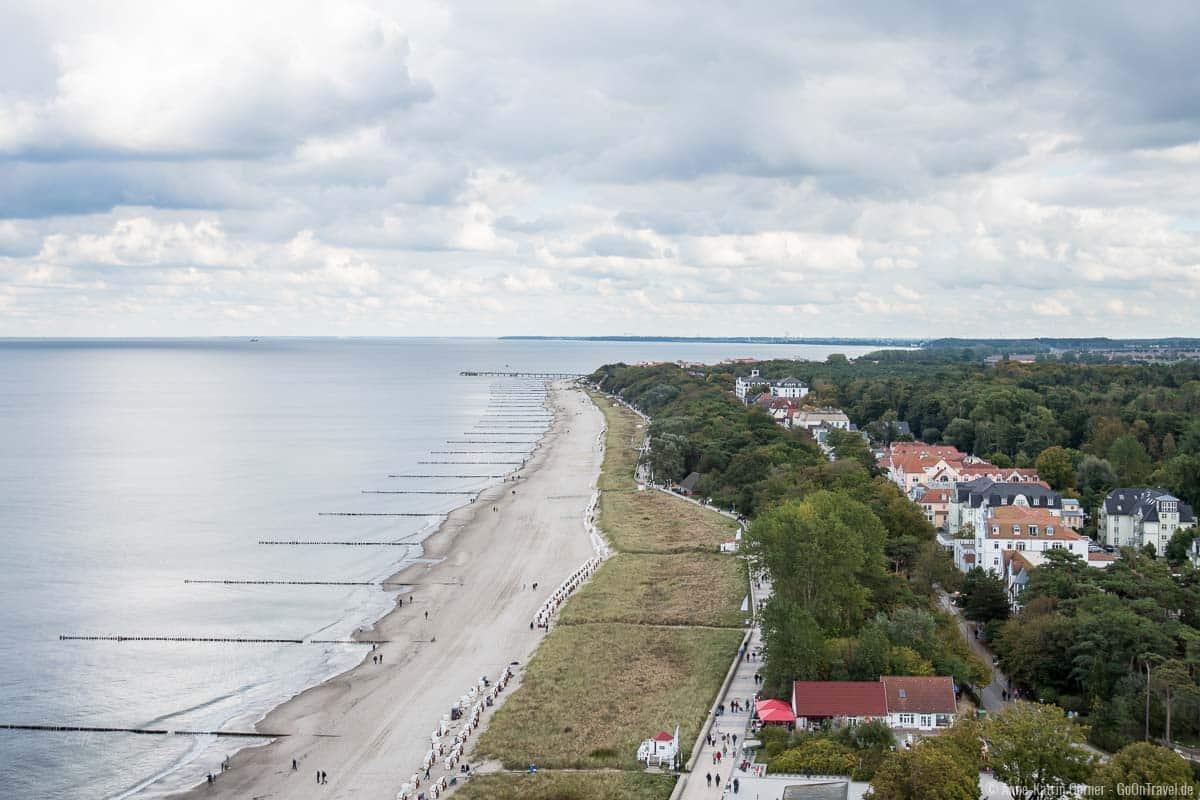 Kühlungsborn hat eine der längsten Strandpromenaden Deutschlands