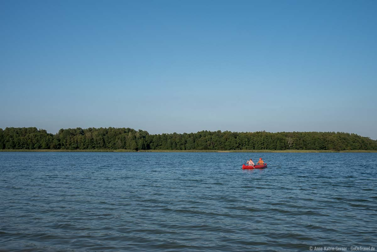 Perfekter Tagestrip: mit dem Kanu über die Templiner Seen