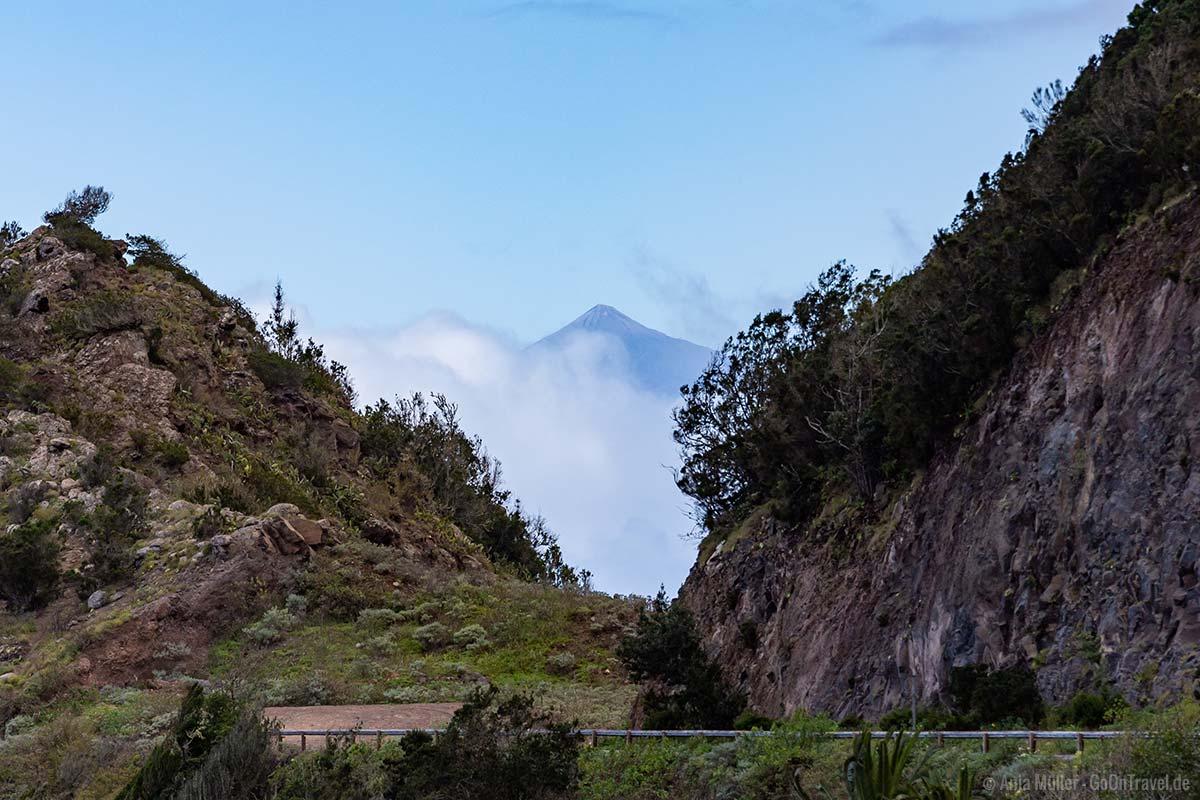 Blick auf den Teneriffa und den Teide