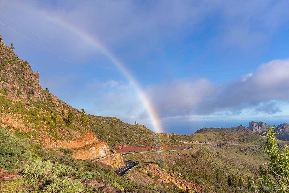Regenbogen bei der Wallfahrtskirche