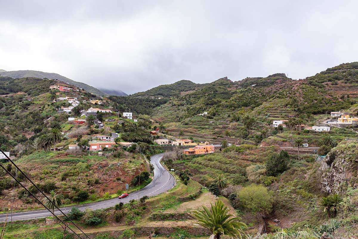 Das Dorf Las Rosas