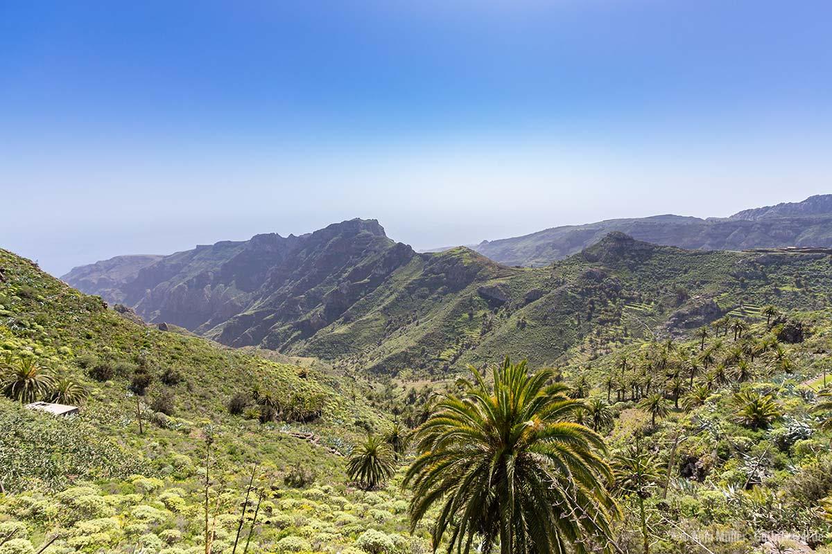 Wundervoller Ausblick beim Mirador Degollada de Peraza