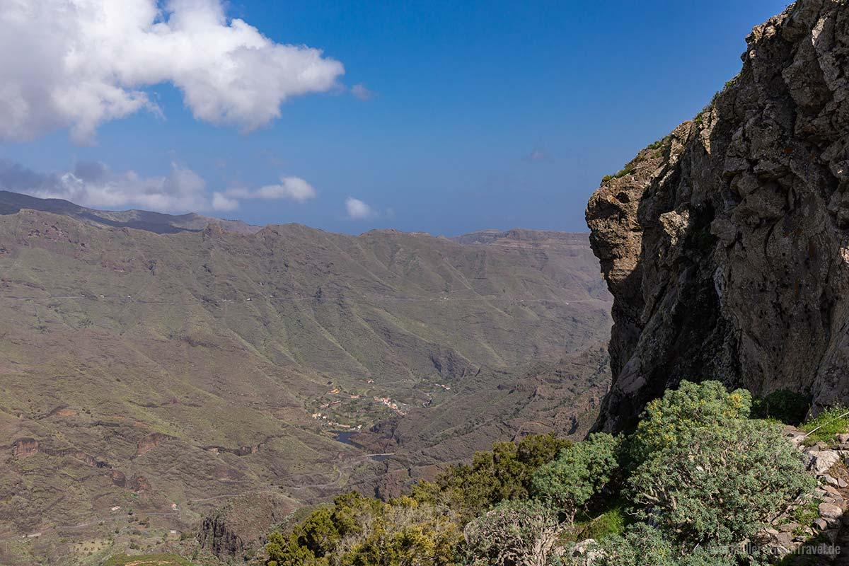 Das Tal Barranco de la Laja