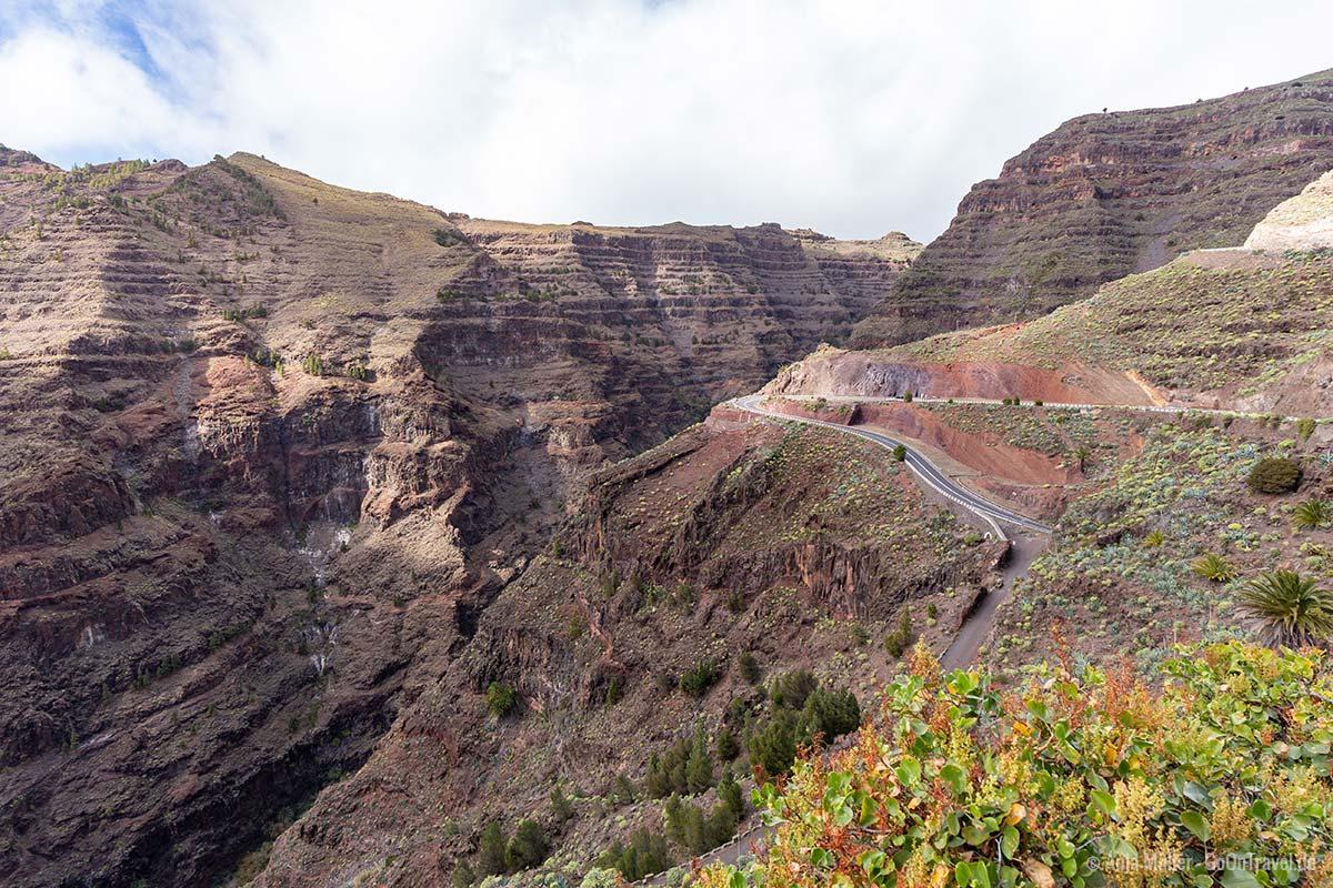 Am geschichtsträchtigen Aussichtspunkt Mirador de la Curva del Queso