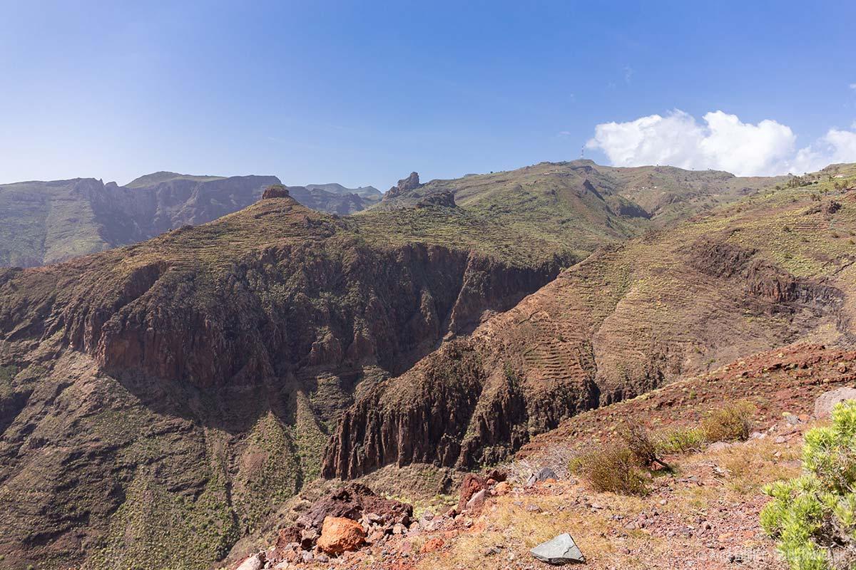 Interessante Steinformationen auf La Gomera