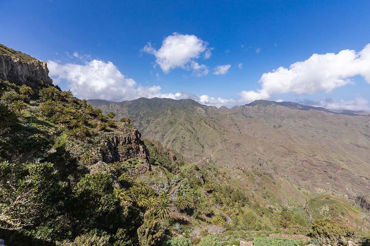 Ausblick auf das Naturschutzgebiet Benchijigua