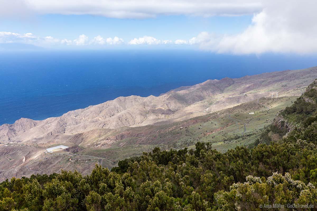 Zentrales Plateau auf La Gomera