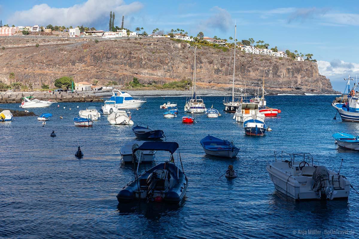 Hafen von Playa Santiago