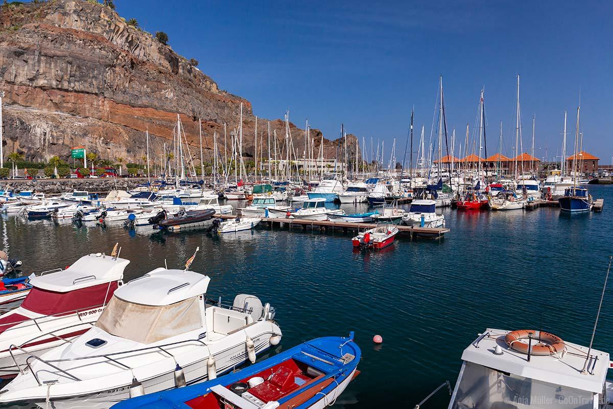 San Sebastian de la Gomera Hafen
