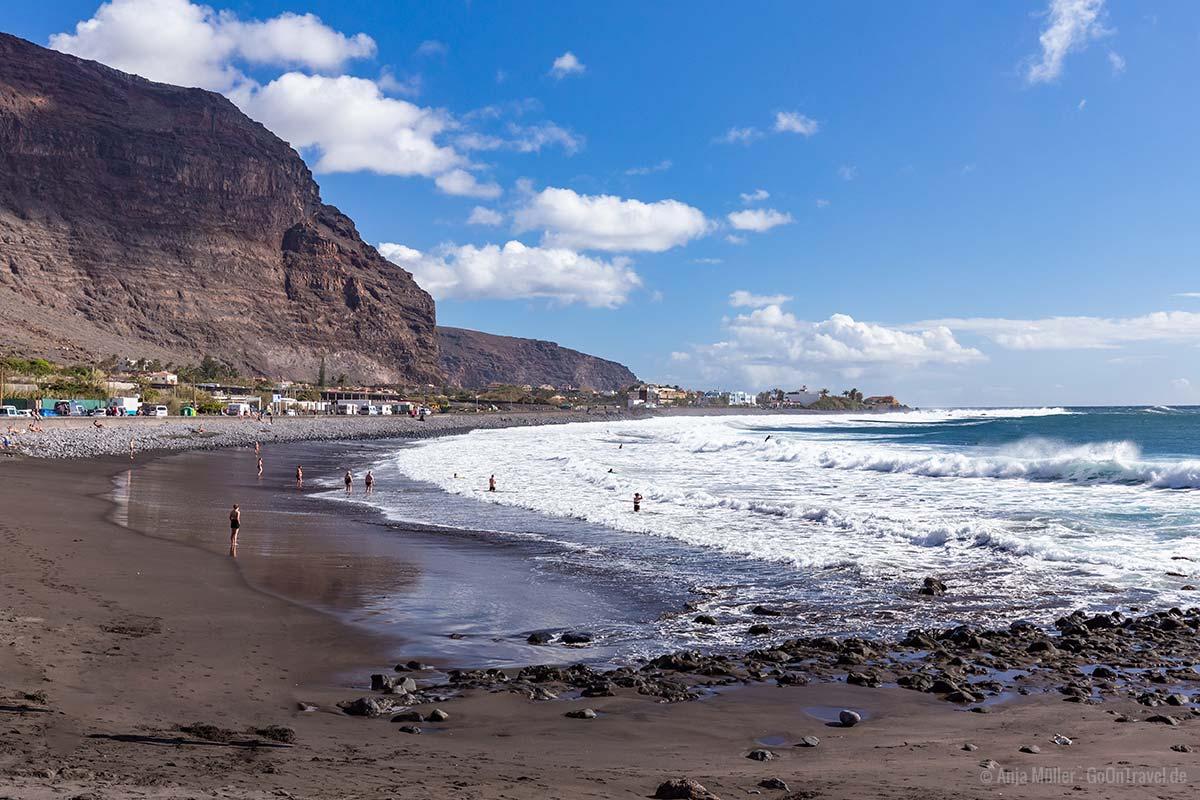 Strand von Valle Gran Rey