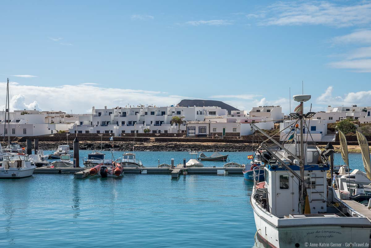 Am Hafen von Caleta del Sebo