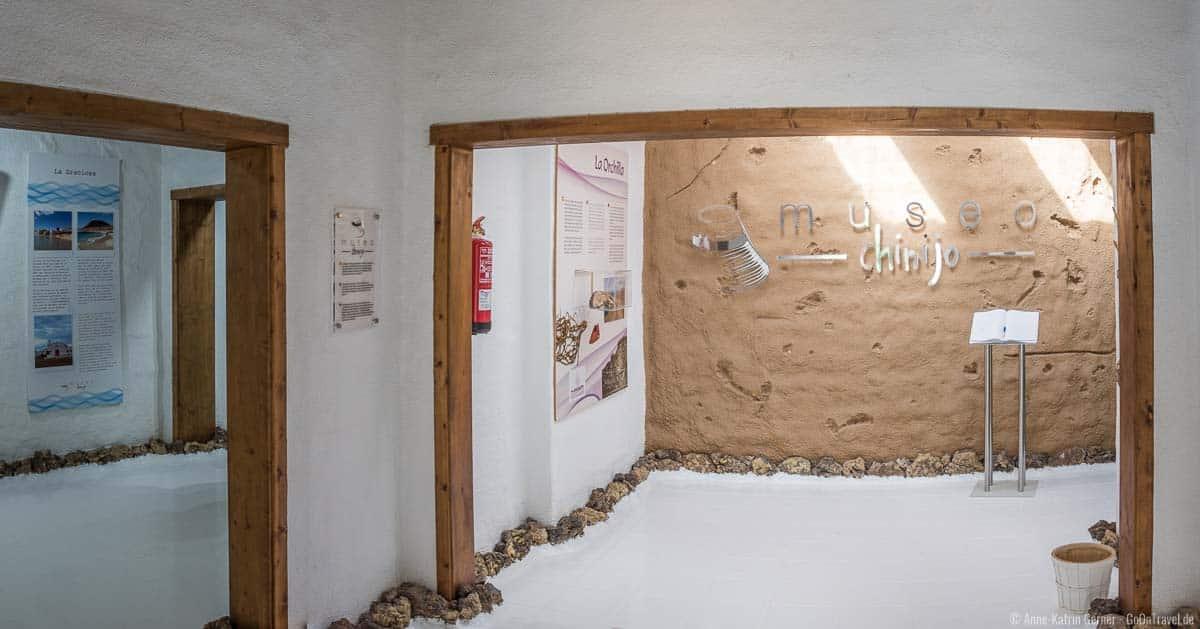 Ausstellungsräume des museo chinijo
