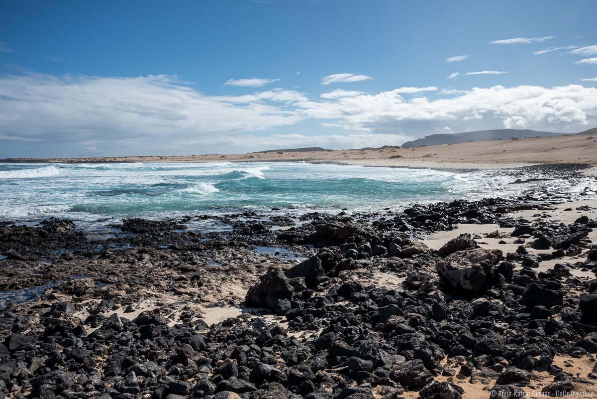 Playa Lambra im Nordwesten von La Graciosa