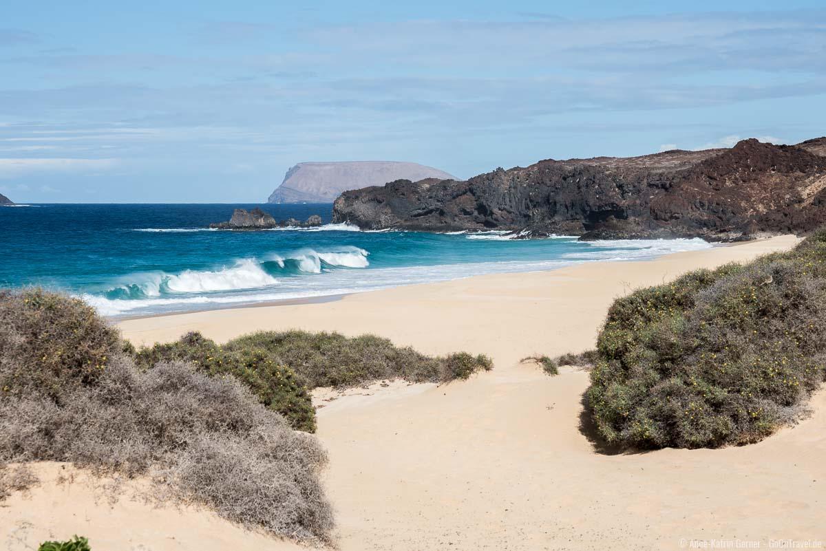 Wunderschön und gefährlich Playa de las Conchas