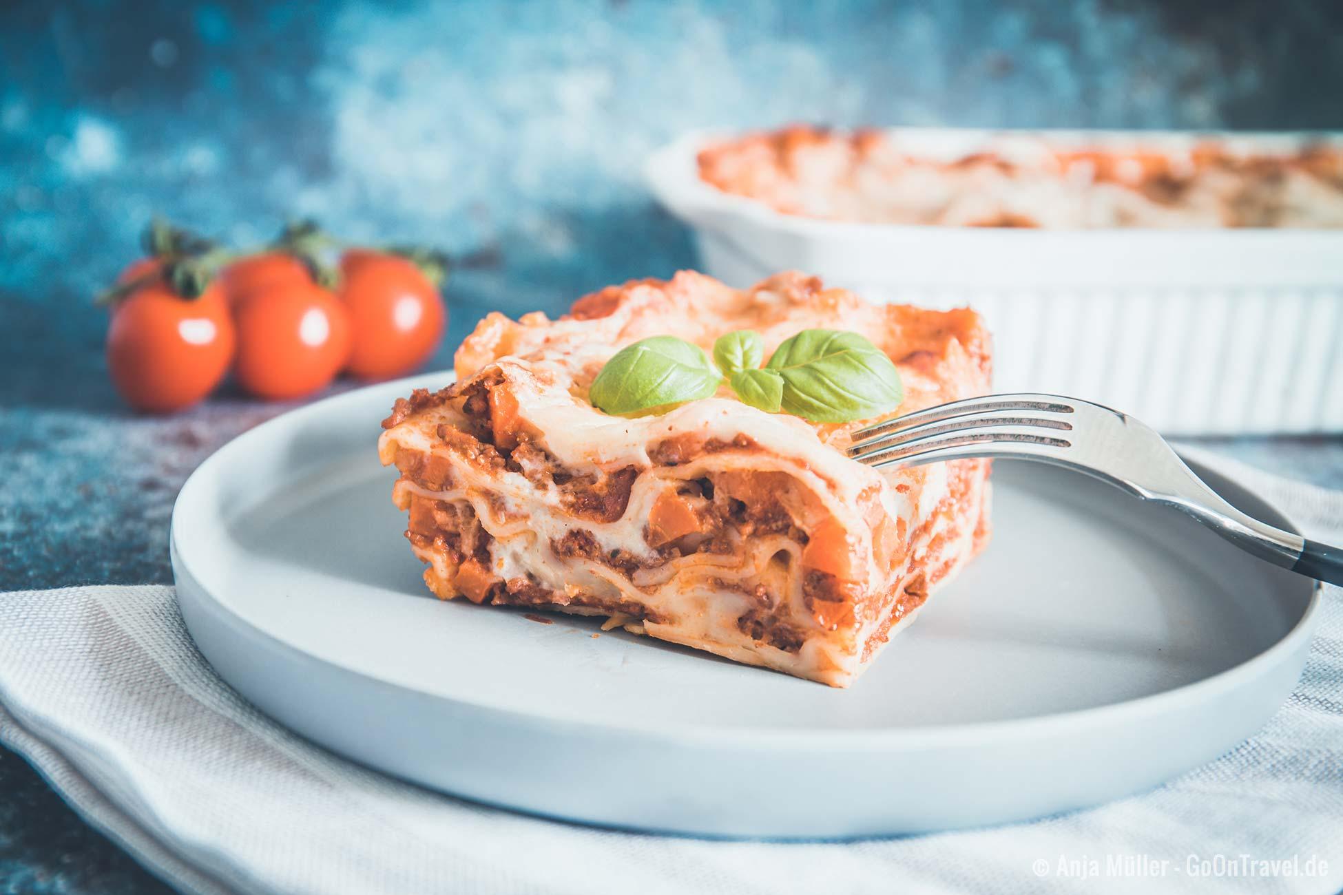 Lasagne Rezept – So kannst du Lasagne selber machen