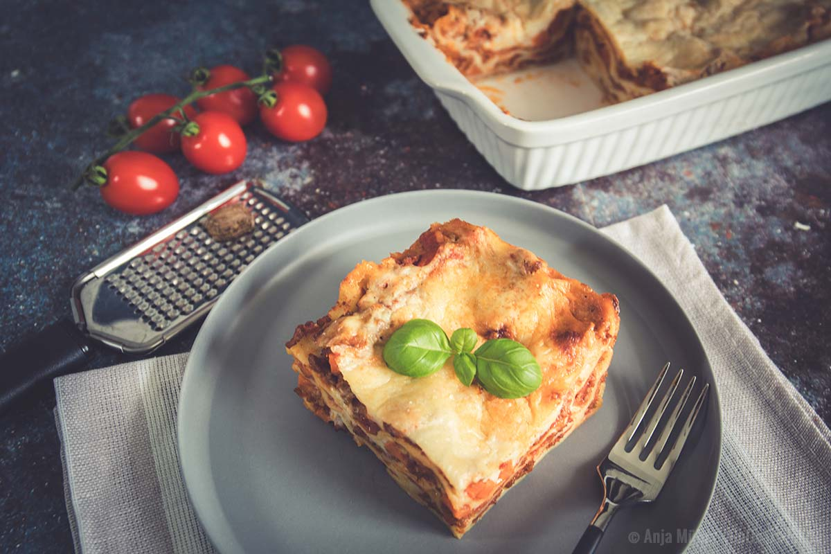 Yummy, leckere Lasagne