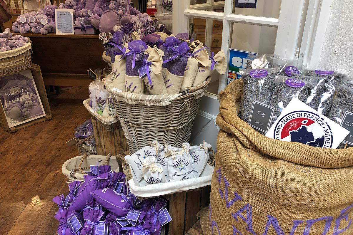 Lavendelprodukte aus der Provence