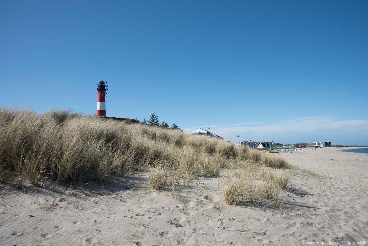Der Sylter Inselsüden mit dem Hörnumer Leuchtturm